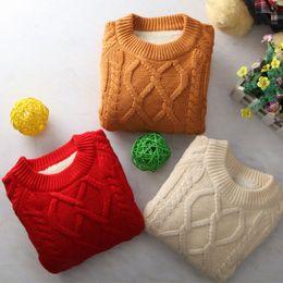 $enCountryForm.capitalKeyWord NZ - Winter kids sweater jumper casual geometric pattern cashmere sweaters warm comfortable fashion Pullover