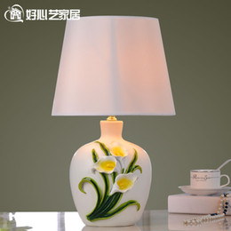 Western Style Wedding Table Lamp Modern Creative Learning Bedside Lighting The Living Room
