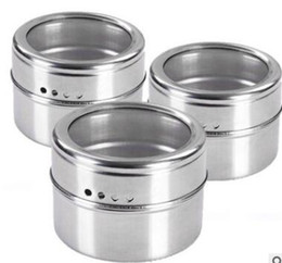 $enCountryForm.capitalKeyWord Canada - Magical magnetic Stainless steel spice jar monosexuality tank sauce pot seasoning bottle