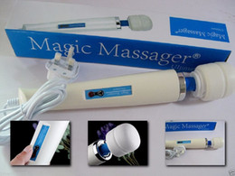 HitacHi sex toys online shopping - Hot Ultimate Magic Wand Massager with Hitachi Head Speed Powerfull Vibration Full Body Massager Adult Sex Toys V US plug by DHL