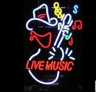 "$enCountryForm.capitalKeyWord NZ - Live Music Guitar Player Neon Sign Commercial Custom Real Glass Tube Beer Bar Disco KTV Store Display Decoration Art Neon Signs 15""X19"""