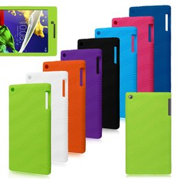 tablets lenovo NZ - Best For Lenovo Tab 2 A7-30 Tablet PC 7inch Soft Silicone Rubber Gel Skin Case Cover
