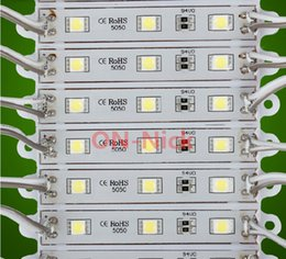 $enCountryForm.capitalKeyWord Canada - Best price! 5050 LED Module DC12V Super Bright 3leds piece IP65-Waterproof 0.72W for Advertising