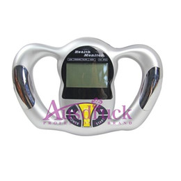 Chinese  Handheld BMI Tester Health Weight Monitor Body Fat Analyzer LCD display 5 body type figure manufacturers