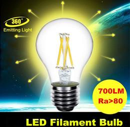 Bubble Ball Bulb Lamp Canada - 2015 new arrive Glass Housing Hot sale LED lamp LED filament bulb 4W E27 B22 AC 110V-220V Warm white LED bulb High brightness