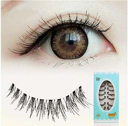 d0a70d27952 Eyelashes for naked makeup daily use false eyelashes 301# natural cross  thick lash extension short lashes eyelashes winged eye lashes