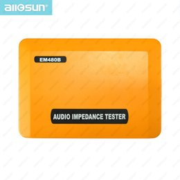 Wholesale Digital Audio Impedance Test Meter Speaker Voice Resistor System Ohmmeter LCD display All Sun model EM480B