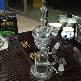 $enCountryForm.capitalKeyWord Canada - unique glass bongs Glass Recycler spiral tall recycler oil rig glass pipes smoking glass water pipes