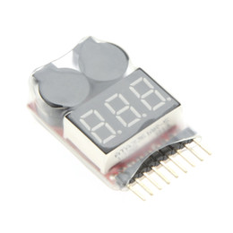 $enCountryForm.capitalKeyWord NZ - Original Vistapower 1-8S Digital Display Indicator RC Li-ion Lipo Battery Tester Low Voltage Buzzer Alarm order<$18no track