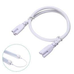 Провод кабеля разъема пробки Сид T5 T8, шнур выдвижения 1ft 2ft 3ft 4ft 5ft 6ft для интегрированной пробки, силовой кабель с штепсельной вилкой США