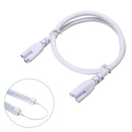Vente en gros Porte-cordon de rallonge T8, fil de tube à LED T5, connecteur de fil de 1ft de 4ft de 3ft de 3ft de 1ft de 1ft pour la lumière, câble d'alimentation avec prise US