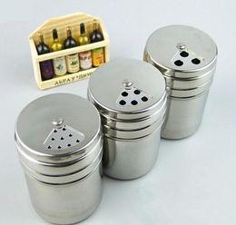 TooThpicks sTainless online shopping - Kitchen Stainless steel Spice Shaker Jar Sugar Salt Pepper Herbs BBQ Spice toothpick Storage Bottle