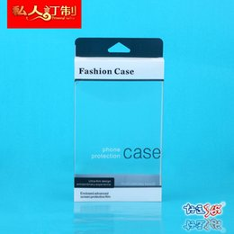 blister for iphone NZ - 200pcs Blister Plastic Retail Packaging Clear Box Custom Universal Packing For iPhone 5s 6 6 Plus s6 note 4 Phone Case Cover