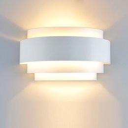 modern bulb wall light 2019 - modern brief lighting wall lamp indoor E27 led bulb light fashion bedroom bedside corridor led wall lamp light with butt