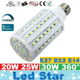 Chandeliers dimmable lights online shopping - Dimmable E27 Led Lights Bulbs Light W W W Led Corn Lights Chandelier Lamp AC V