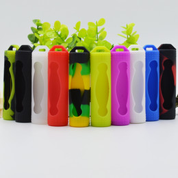 China Protective 20700 Battery Silicone Skin Cover Protect Safe Protection Colorful Rubber Cases for Ijoy Sanyo 20700 Batteries Li-Battery suppliers