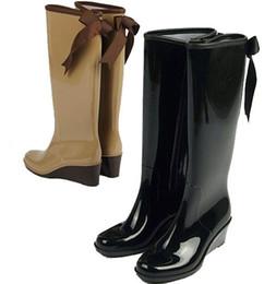 Discount Wedge Heel Rain Boots | 2017 Rain Boots Wedge Heel Women ...