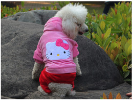 $enCountryForm.capitalKeyWord Canada - Sale hello kitty pet dog clothes \ Teddy dog clothes \ fall and winter clothes dog clothes \ poodle bichon legs clothes