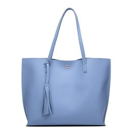 Patchwork Plaid Handbags Australia - new Luxury Women Shoulder Bag Soft Leather TopHandle Bags Ladies Tassel Tote Handbag High Quality Women's Handbags