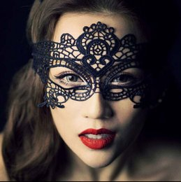 $enCountryForm.capitalKeyWord Canada - New Lovely Lace Halloween Exquisite Masquerade Party Half Face Mask Girls Woman Lady Sexy Mask For Christmas Ball Disco Dancing Party Must