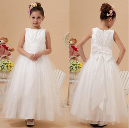 $enCountryForm.capitalKeyWord NZ - 2014 Modest Little Girl's Dress Tnee White Long Kids Pageant Ball Gowns Formal For Girls Flower Girl Dresses Baby Glitz Toddler Infant Cheap