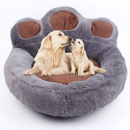 Kennel products online shopping - Creative Dog Beds Soft Warm Dog Kennel Winter Dog Blanket Pet Bed Warm Sleeping Mats Pet Products Pink Coffee Grey Beige