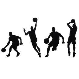 $enCountryForm.capitalKeyWord NZ - Brand New Basketball Player Removable Wall Art Stickers Wall Decor Vinyl Decal Wall Stickers Removable Best Promotion!