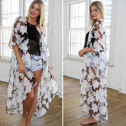 Long Sheer Floral Cardigan Online | Long Sheer Floral Cardigan for ...