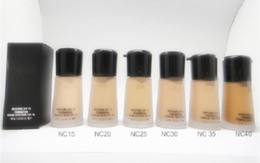 Makeup Mineralize Moisture Foundation Liquid cream 30ML top quality dhl shipping
