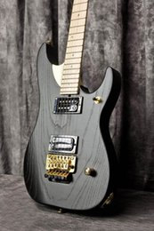 $enCountryForm.capitalKeyWord Australia - WASH N1 Nuno Betancourt Matte Black Electric Guitar Alder Body Maple Neck Floyd Rose Tremolo Tailpiece Abalone Dot Inlays Gold Hardware