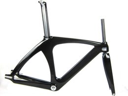 """Light Weight Bikes Canada - Special Value full carbon track bike frame,1-1 8"""" headset fixed gear biycle frame,light weight BB68 bike parts"""