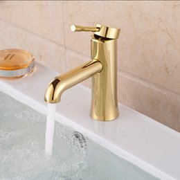 Types Levers Canada - 2016 Hot Selling Type Single Lever Basin Vessel Countertop Mixer Taps Swivel Gold Deck Mount