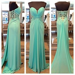 Barato Vestidos De Casamento Vintage Baratos-2015 Long Prom Dresses For Girls Venda quente Cheap Custom Made Color Plus Size Wedding Evening Gowns Sheer Sweetheart Backless Lace Vestidos
