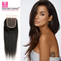 $enCountryForm.capitalKeyWord NZ - Brazilian kinky straight weave straight hair with closure unprocessed hair with lace closure human hair bundles