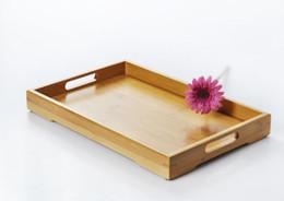 $enCountryForm.capitalKeyWord Canada - Tea set bamboo container tray drink service double ear tray bamboo fruit hotel gift tea bed dish bread trays
