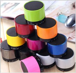 Discount wireless speakers for hi fi - S10 Bluetooth Speakers S11 Mini S10 Speaker Wireless Portable Speakers HI-FI Music Player Home Audio for iphone 5 iphone