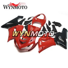 $enCountryForm.capitalKeyWord UK - Fairings For Kawasaki ZX-6R 636 2005 2006 05 06 New Cover Injection ABS Plastics Hull Covers Motorbike ZX6R Body Kits Red Black Fittings Kit