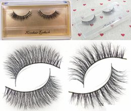 $enCountryForm.capitalKeyWord Canada - Ultra-Realistic Top Luxury Handmade Horsehair Thick False Eyelashes Naturally Messy Cross- 2 Styles for choices 1 Pair