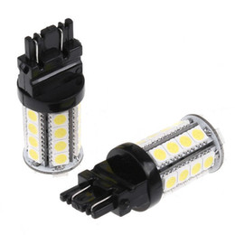 $enCountryForm.capitalKeyWord Canada - White 4W 360LM 3157 30 5050 SMD LED Car Brake Stop Lamp Light Wedge tail lights K467 Auto led Car bulb light DC12V