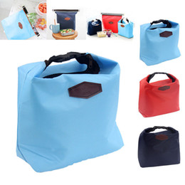 hotthermal small portable insulated cooler picnic lunch carry tote storage bag lancheira bolsa termica gm044