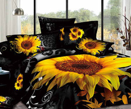 organic cotton black and red rose white feather print duvet cover bedding sets king size bed sheets luxury