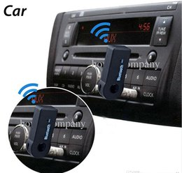 Universal 3.5mm Streaming Car A2DP Wireless Bluetooth AUX Audio Music Receiver Adapter Handsfree with Mic For Phone MP3 100pcs up on Sale