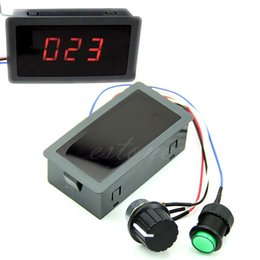 Chinese  DC 6-30V 12V 24V Max 8A Motor PWM Speed Controller With Digital Display & Switch manufacturers