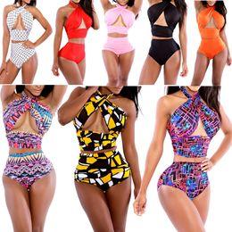 Sexy Swimming Dress For Women Canada - 2015 sexy underwear vintage swimwear for women covered Belly Bikini swimsuit Beach swim dresses Bathing Monokini link fashion M L XL