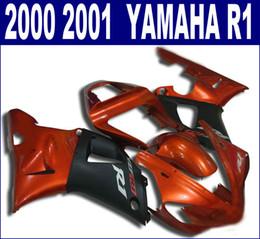 Motorcycle fairing kit yaMaha r1 online shopping - 7 free gifts motorcycle parts for YAMAHA fairings YZF R1 red matte black fairing kit YZF1000 bodykits RQ35