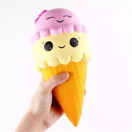 Discount large kawaii squishy - New Kawaii Squishy Large Ice Cream Squishies Slow Rising Phone Squishies Cute Squishies Jumbo Fidget Toys Christmas Toy