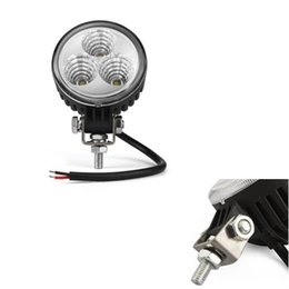 $enCountryForm.capitalKeyWord Canada - 3 LED 9W jeep tructs offroad Working Light Spot lights Car Dome Working Lamp For offroad Car tractor Truck Boat free shippng