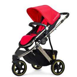 $enCountryForm.capitalKeyWord Canada - Four Colors Luxury Babyruler Baby Cart High Landscape Bidirectional Sitting Lying Portable Carriage Three Wheel Shock Absorber Child Car