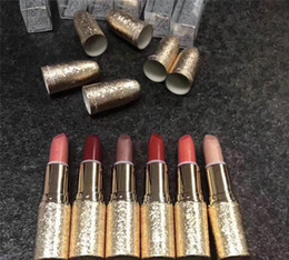 new lipstick shades NZ - New arrival Snow Ball Collection Lipstick -Various Shades NEW HOLIDAY   CHRISTMAS glod box best quality free shipping