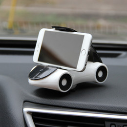 car style cell phones UK - New Fashion Style Portable Universal Car Cell Phone Holder Stand Mount